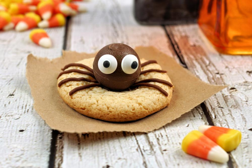 Spider cookies halloween spider decorations