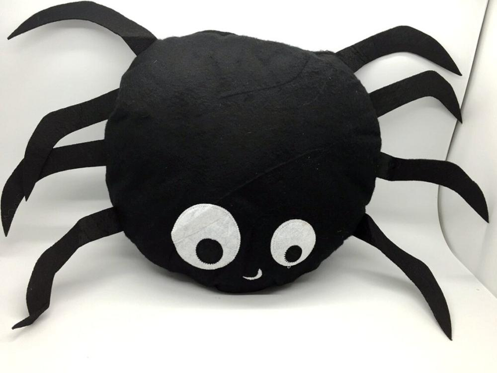Spider pillows spider cut out