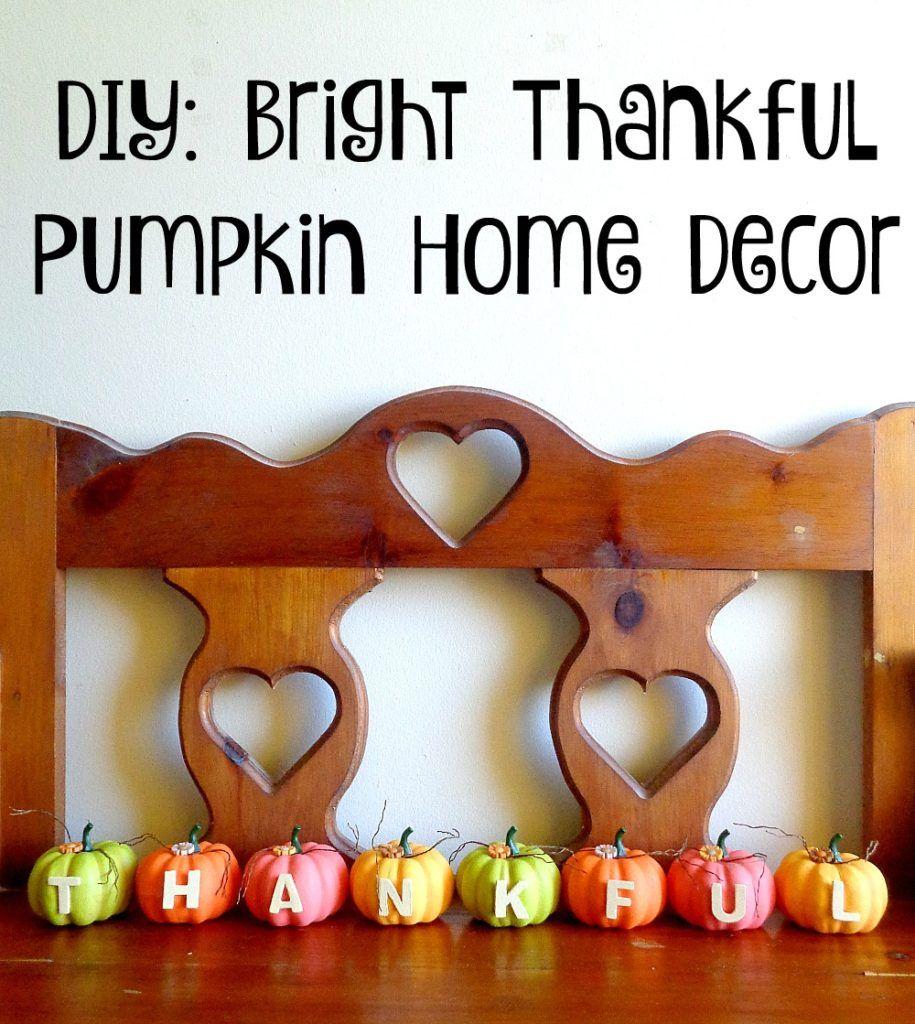 Thankful halloween pumpkin painting
