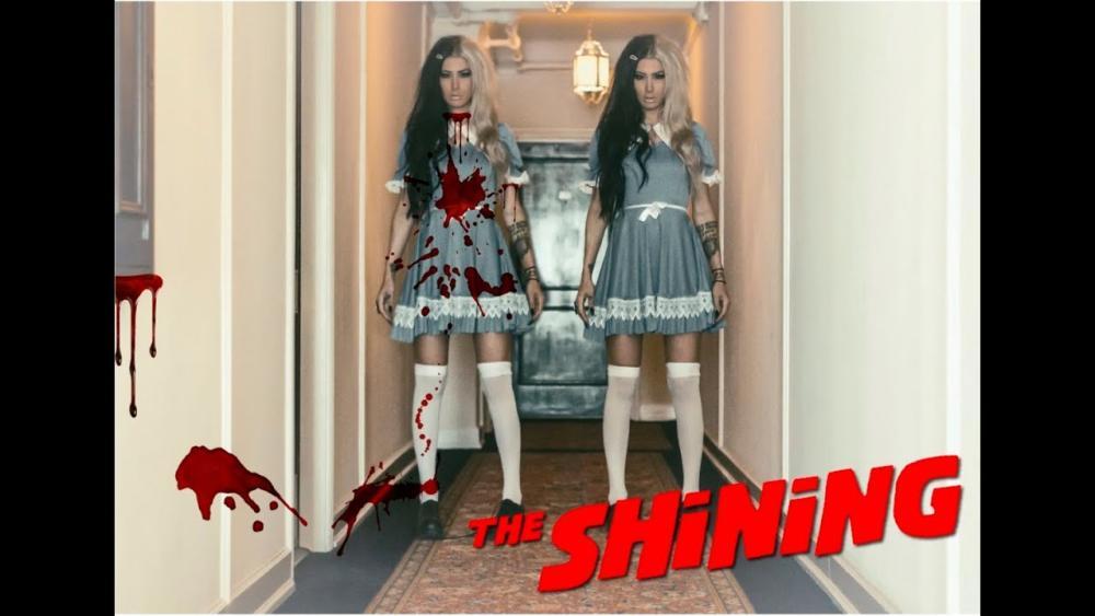 The shining twins creative diy halloween costumes