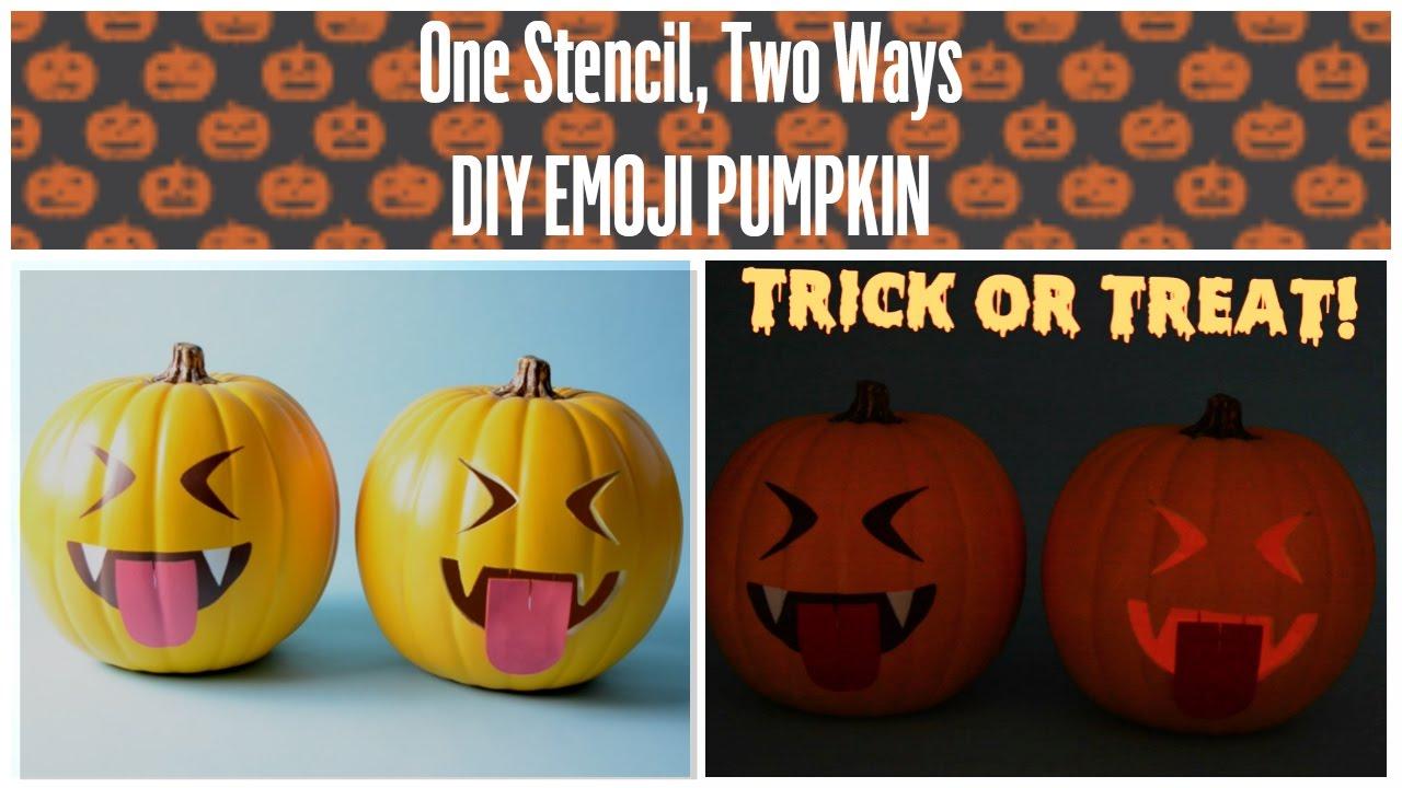 Vampire halloween pumpkin stencils