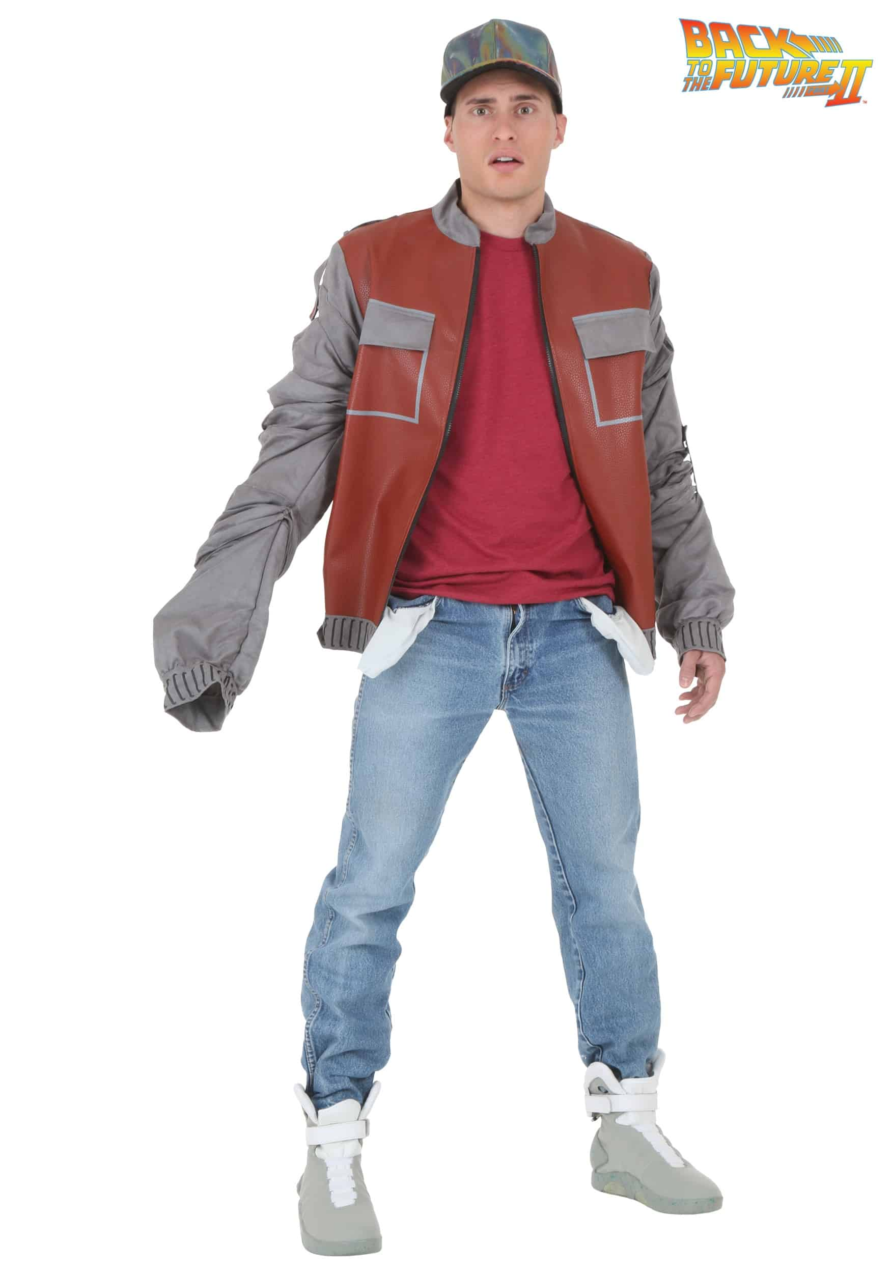 Back future marty mcfly jacket