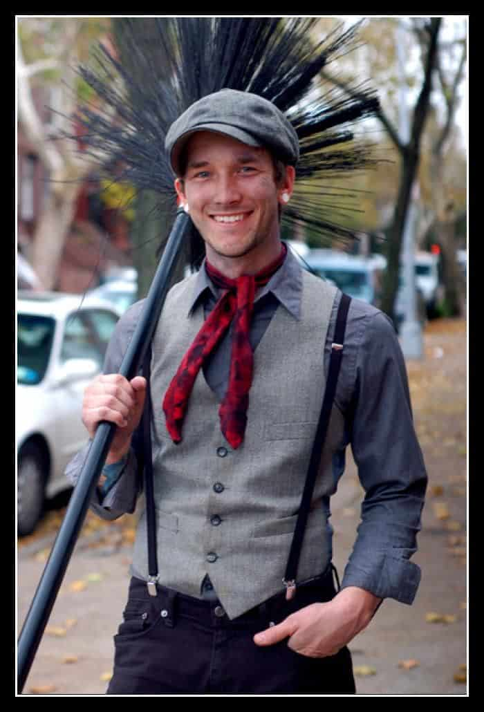 Chimney sweep costume diy