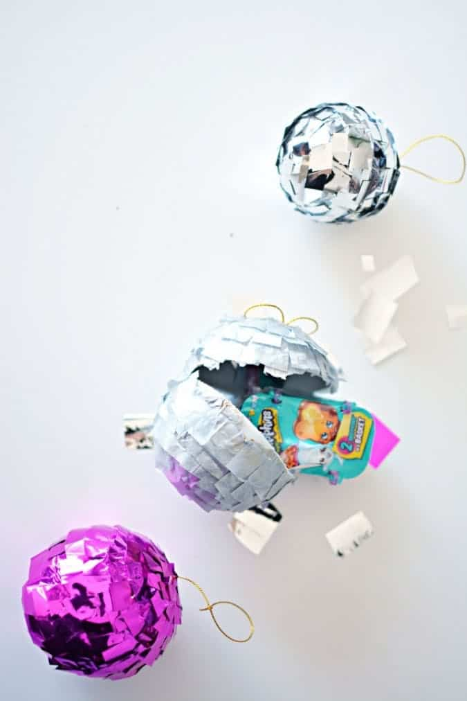 Disco pinata ornaments diy