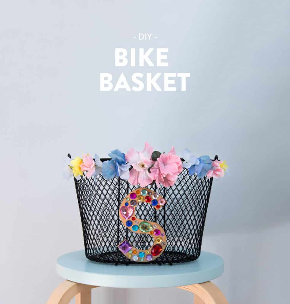 Diy bike basket