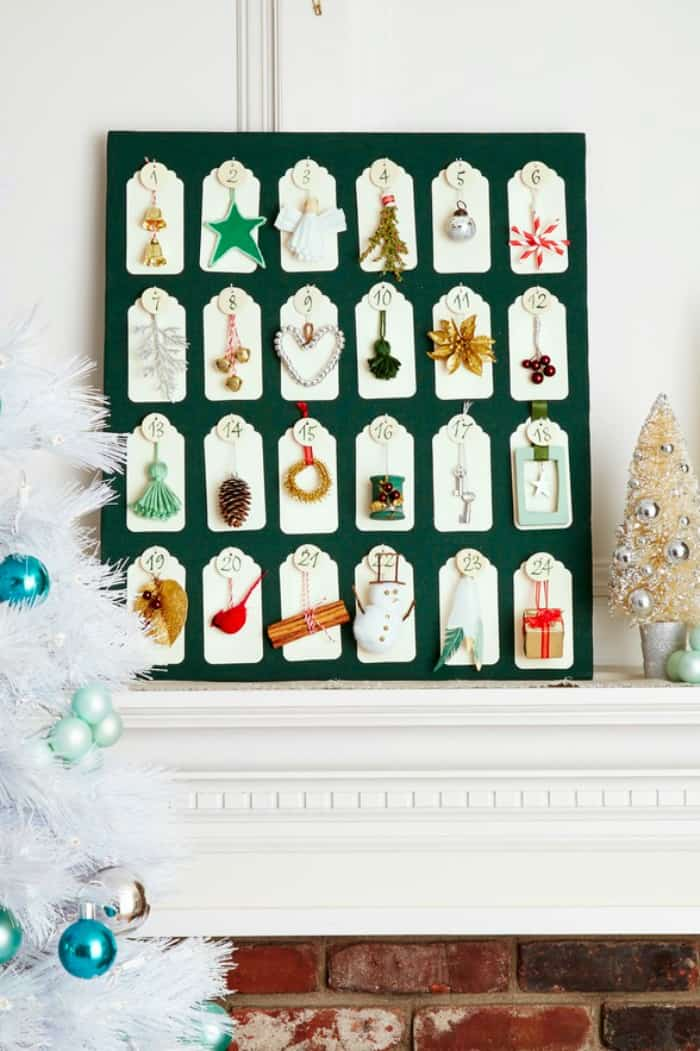 Diy christmas crafty calendar