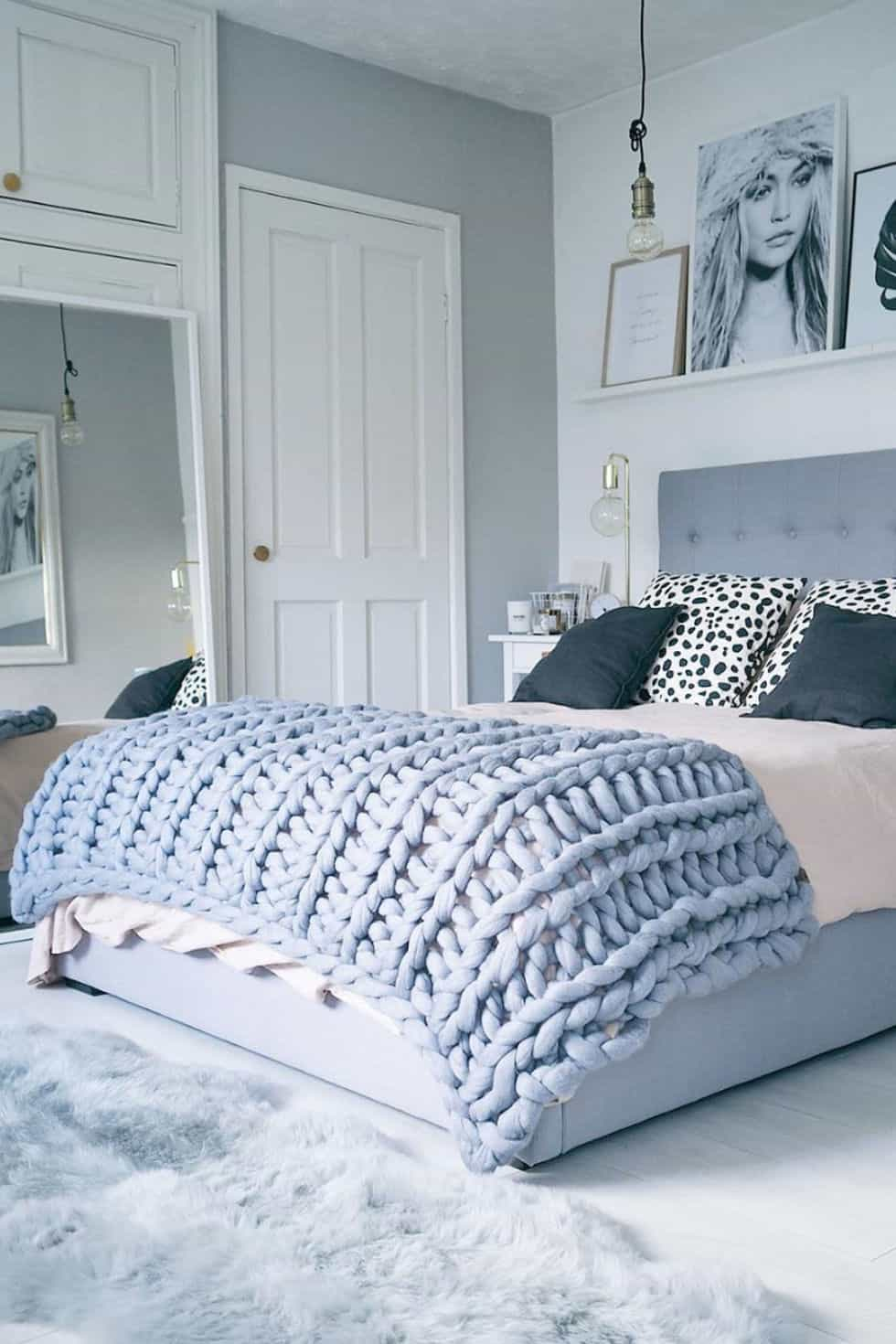 Diy extra large knit blanket