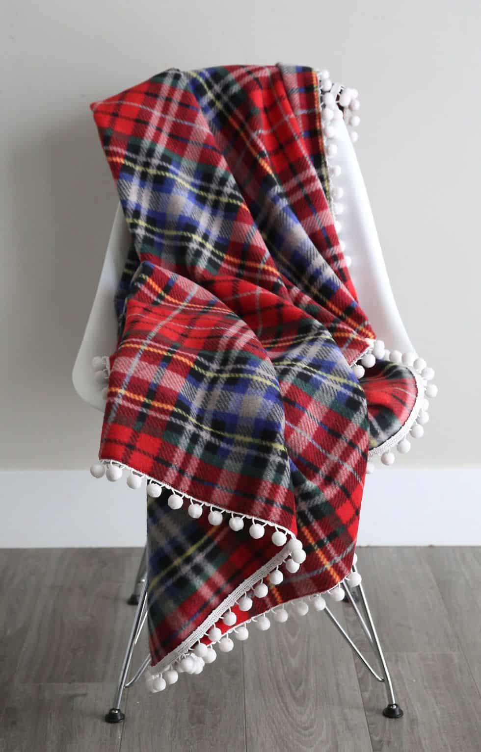 Diy fleece blanket