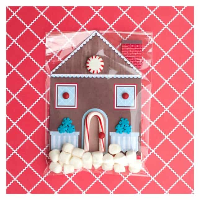 Diy gingerbread card diy