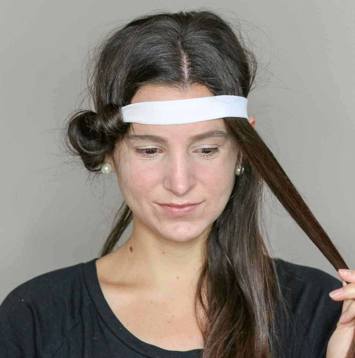 Diy headband curls