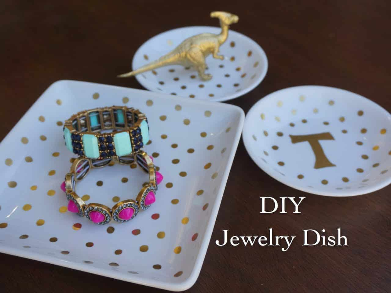 Diy jewelry dish sharpie