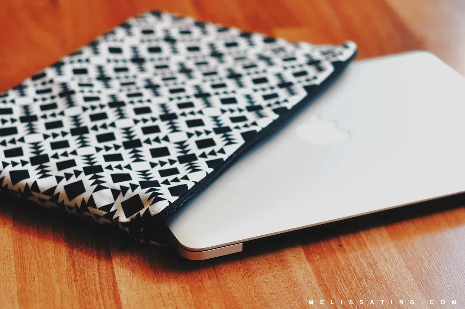 Diy laptop cover