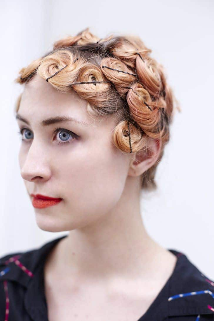 Diy overnight pin curls