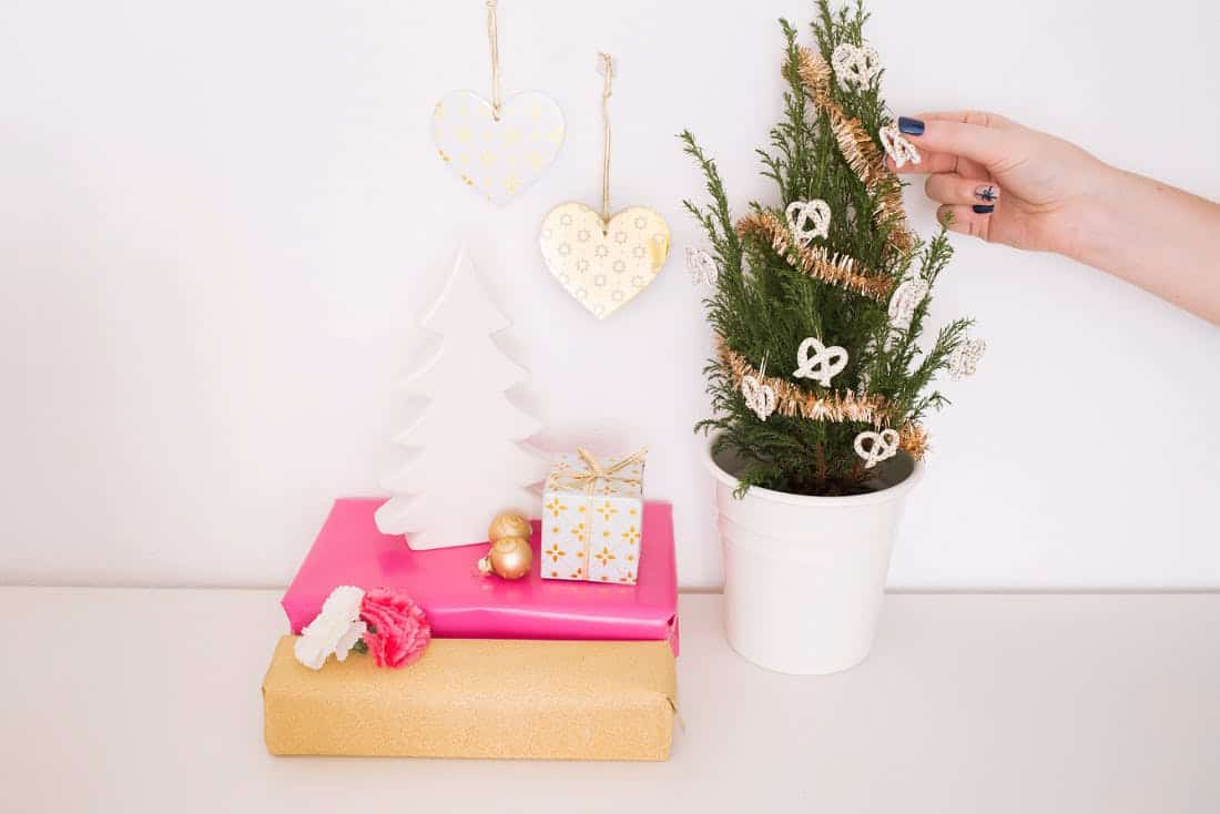 Diy pretzel ornaments