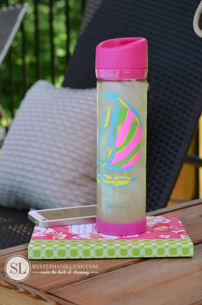 Diy sharpie water bottle