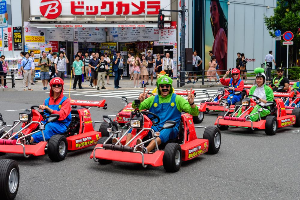 Group costumes for 3 super mario characters