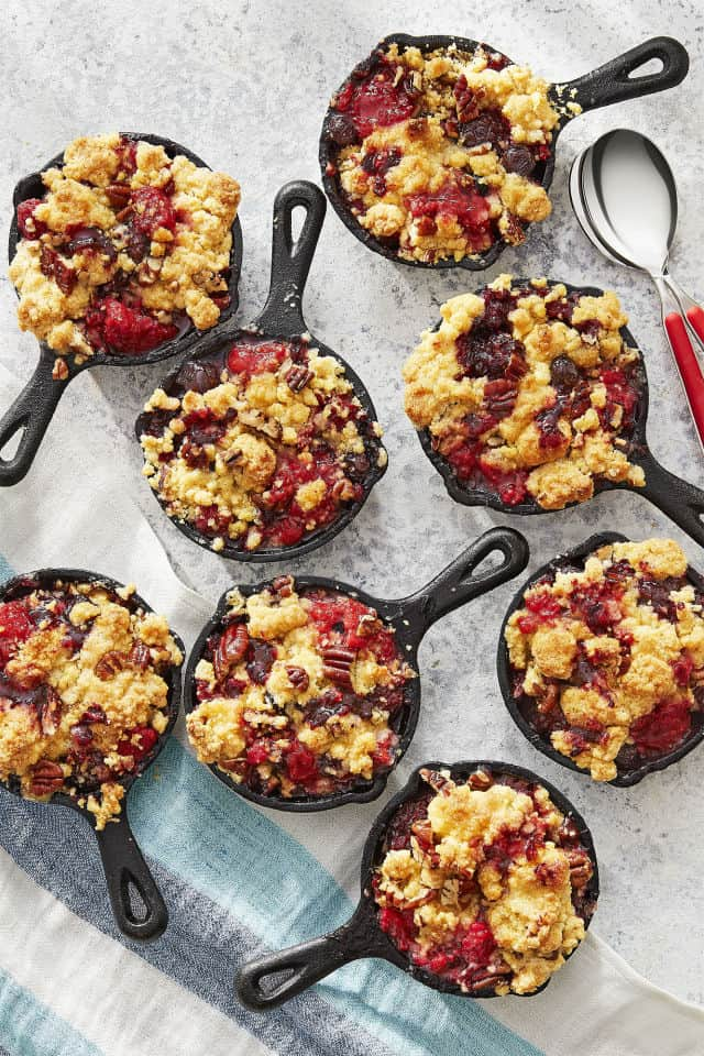 Jiffy mixed berry cobbler
