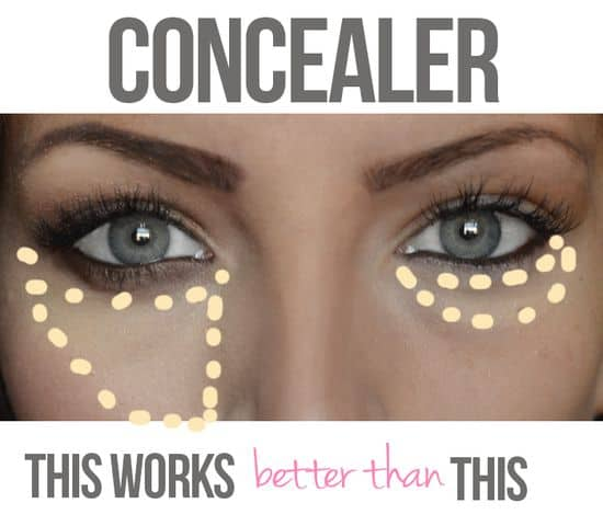 Learn how to apply concealer