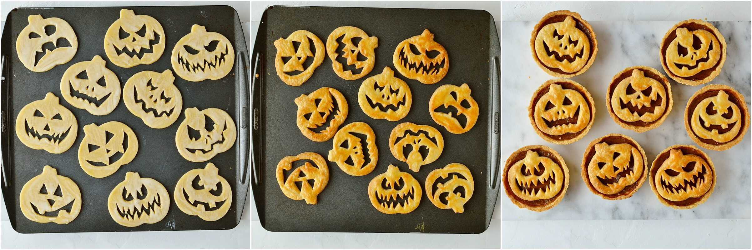Pumpkin pies step 10