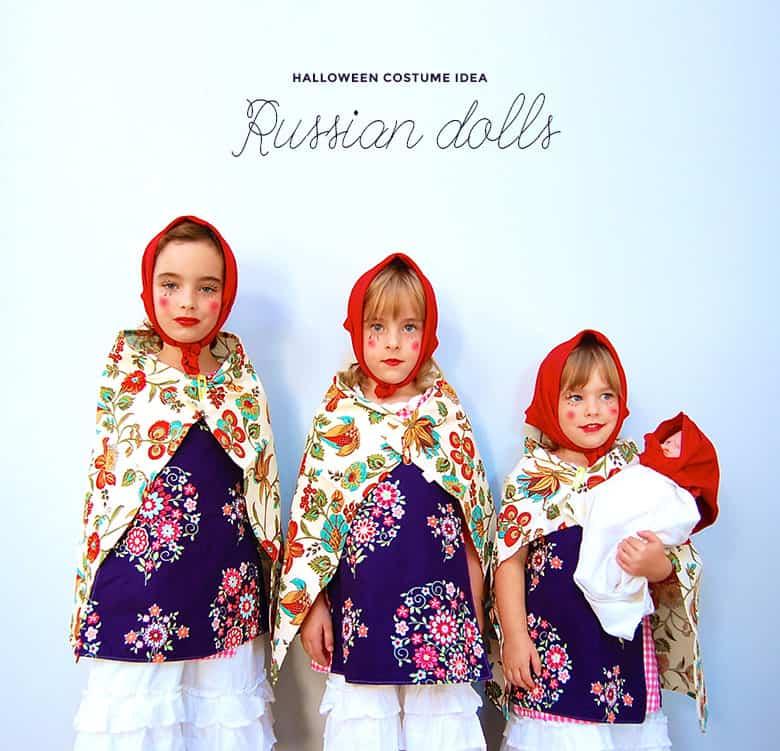 Russian nesting doll costume idea