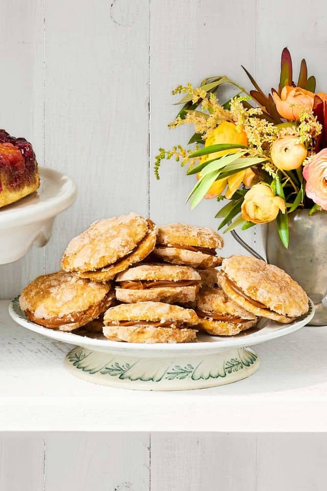Sweet potato snickerdoodle cookies