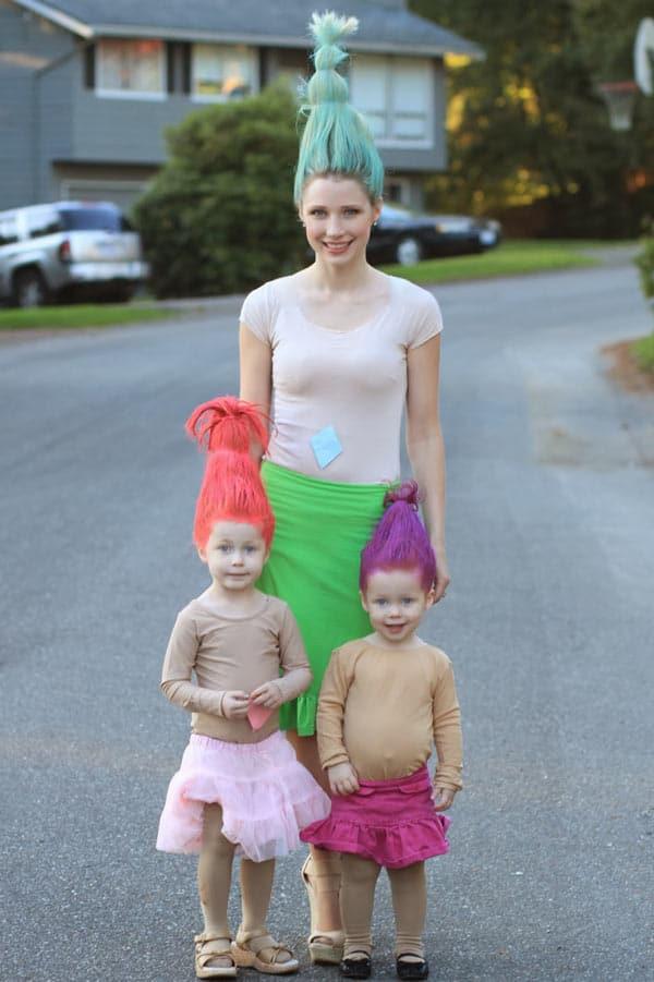 Trolls group costume idea