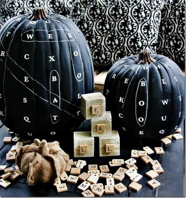 Word find chalkboard pumpkin how to thumb