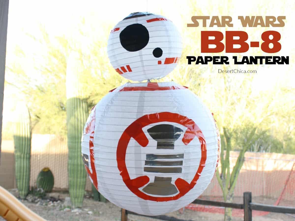 Bb 8 paper lantern