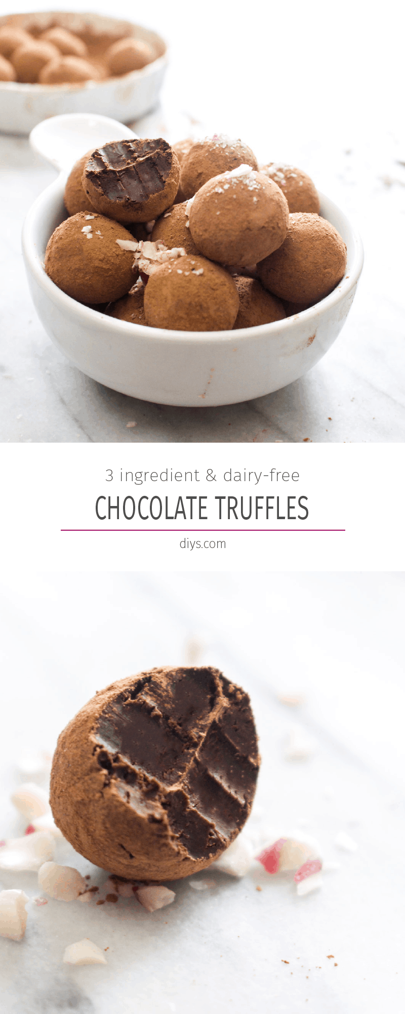 Chocolate truffles top