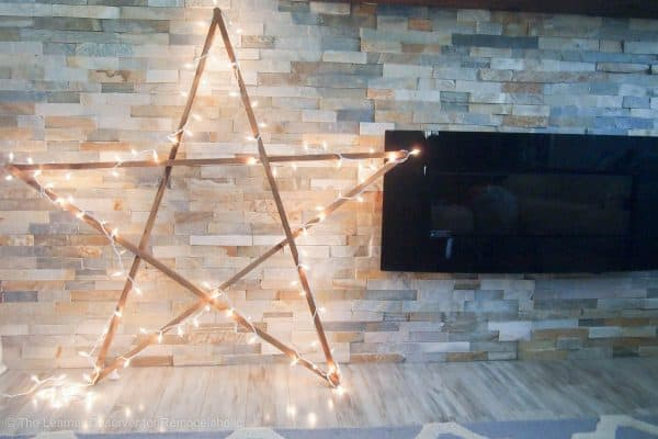 Diy large star the learner observer for remodelaholic