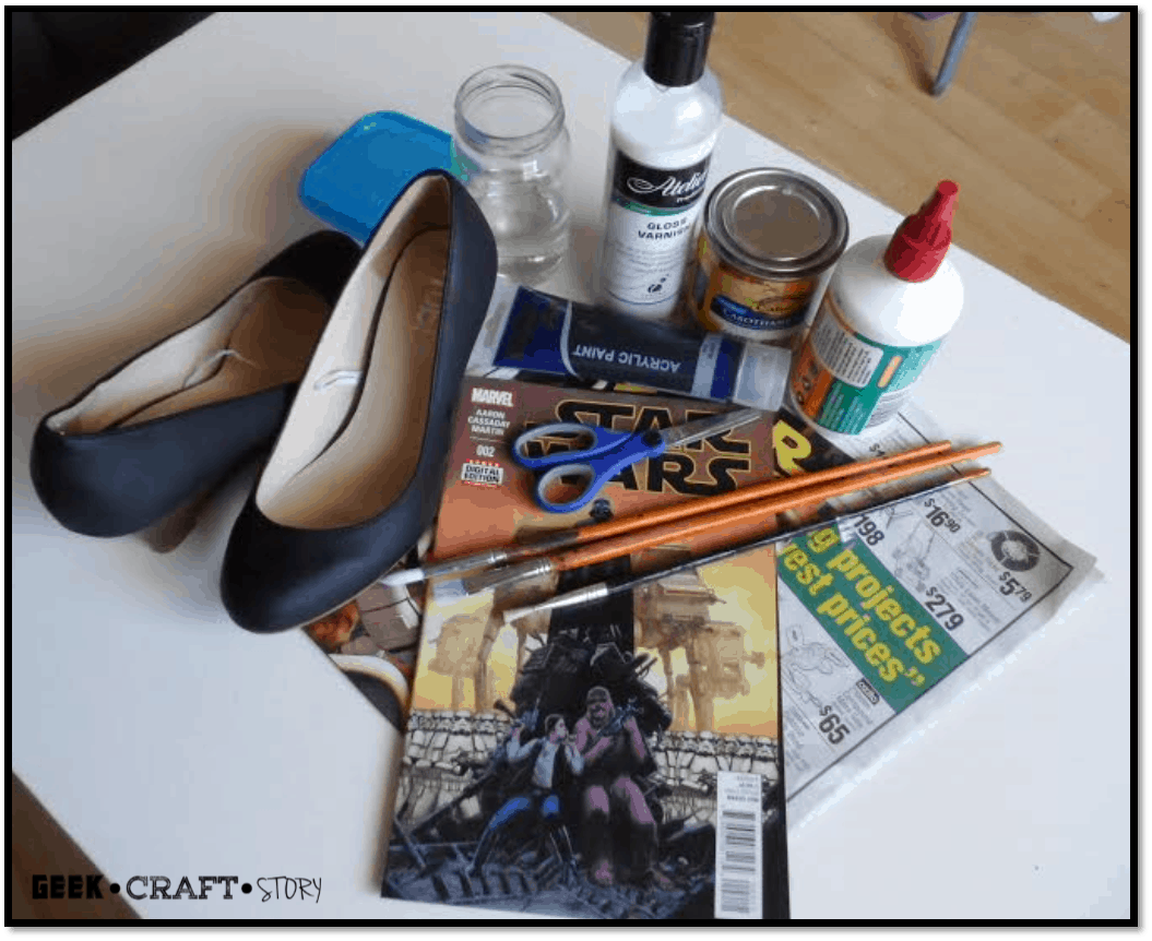 Diy star wars shoes