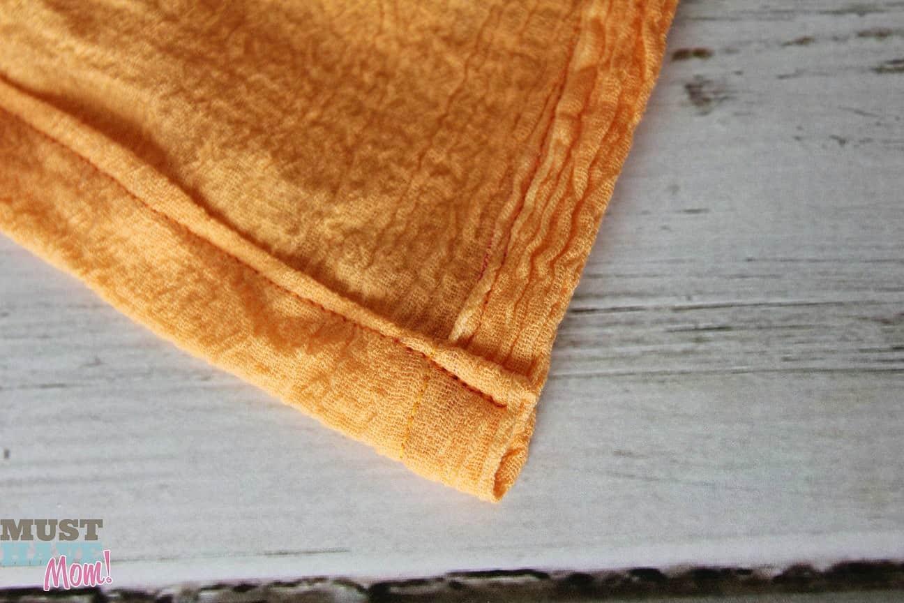 Diy muslin swaddling blanket