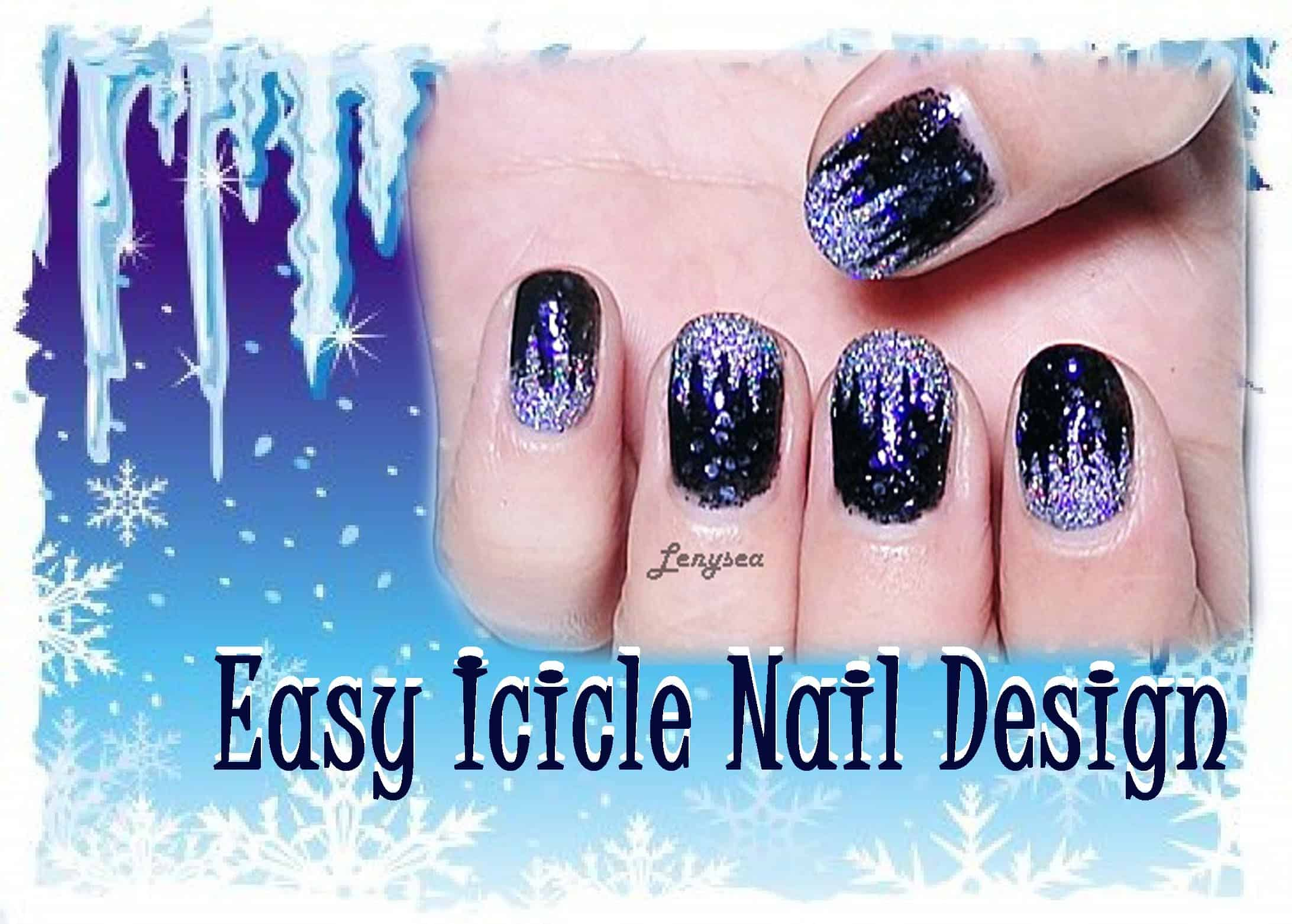 Easy icicle nails