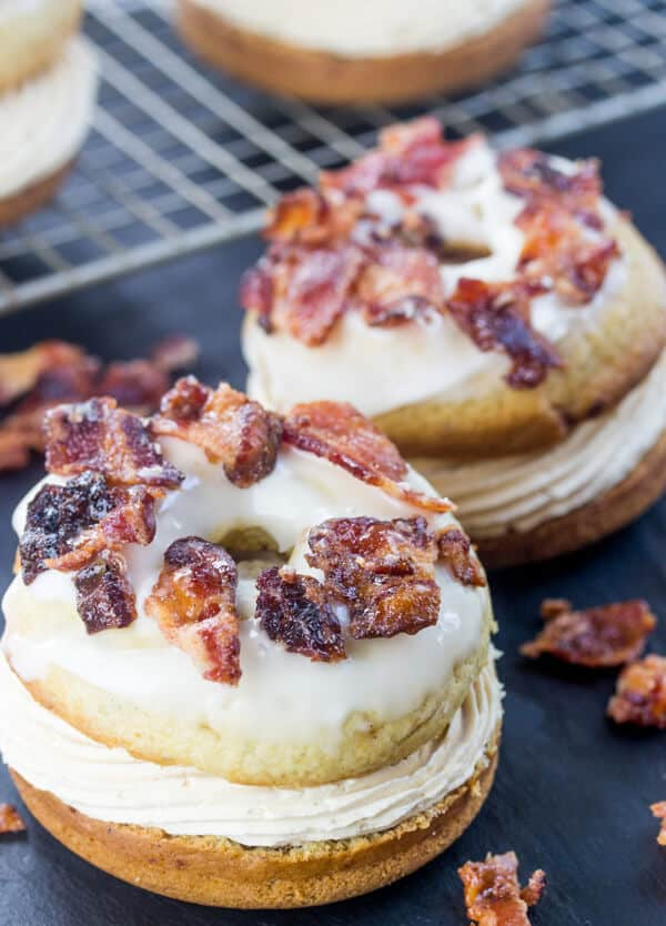 Elvis donut sandwiches