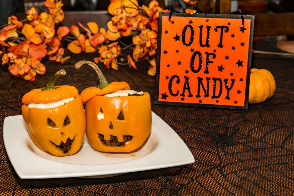 Filled pumpkin thanksgiving craft ideas