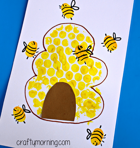 Fingerprint bees and hive