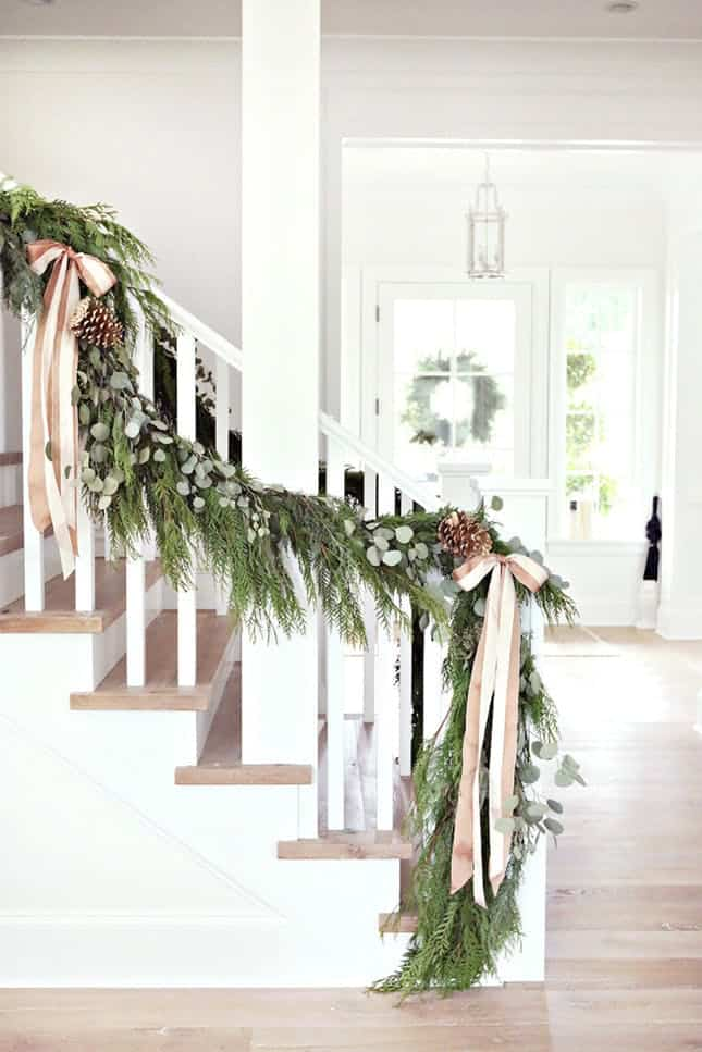 Green garland diy ideas