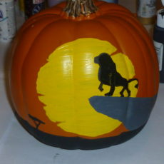 Lion king pumpkin