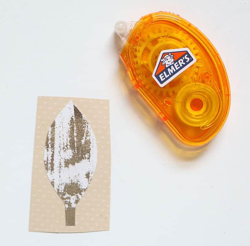 Mini diy pumpkin placecards pattern