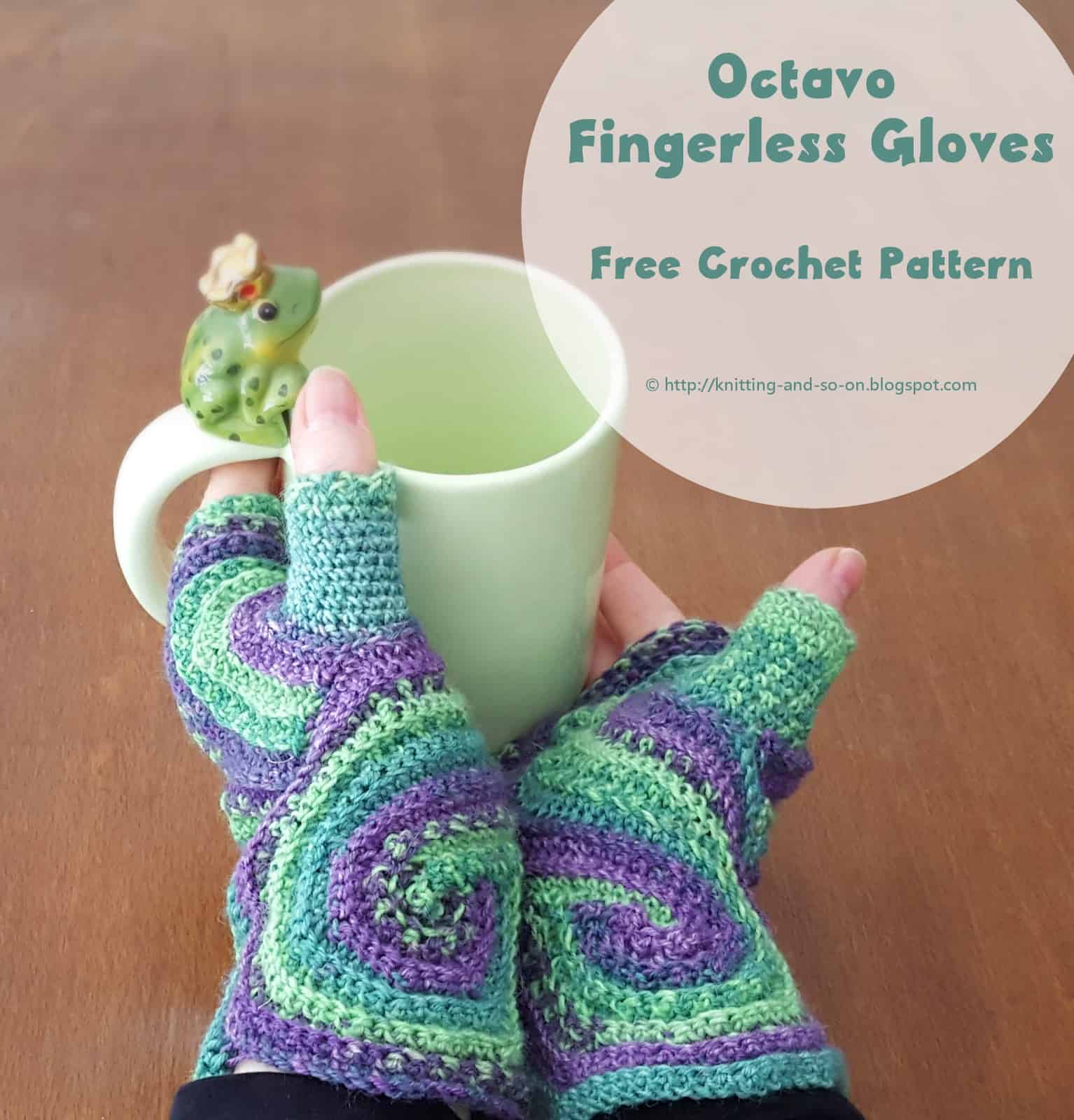 Octavo fingerless mitts