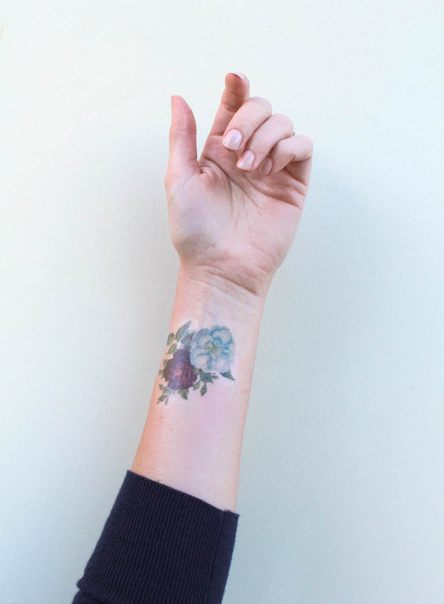 Printable flower tattoos