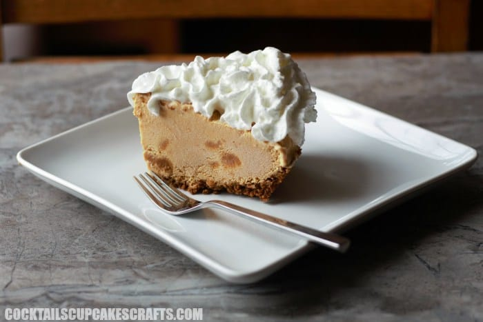 Pumpkin dulce de leche ice cream pie