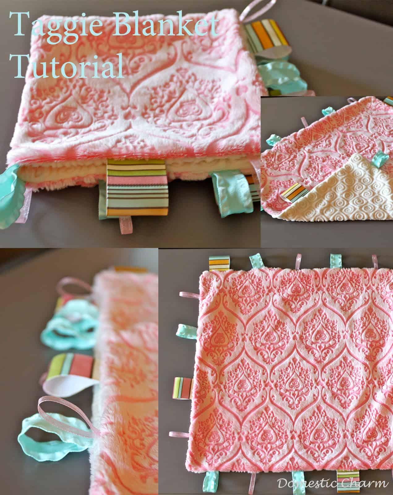 Ribbon taggie blanket