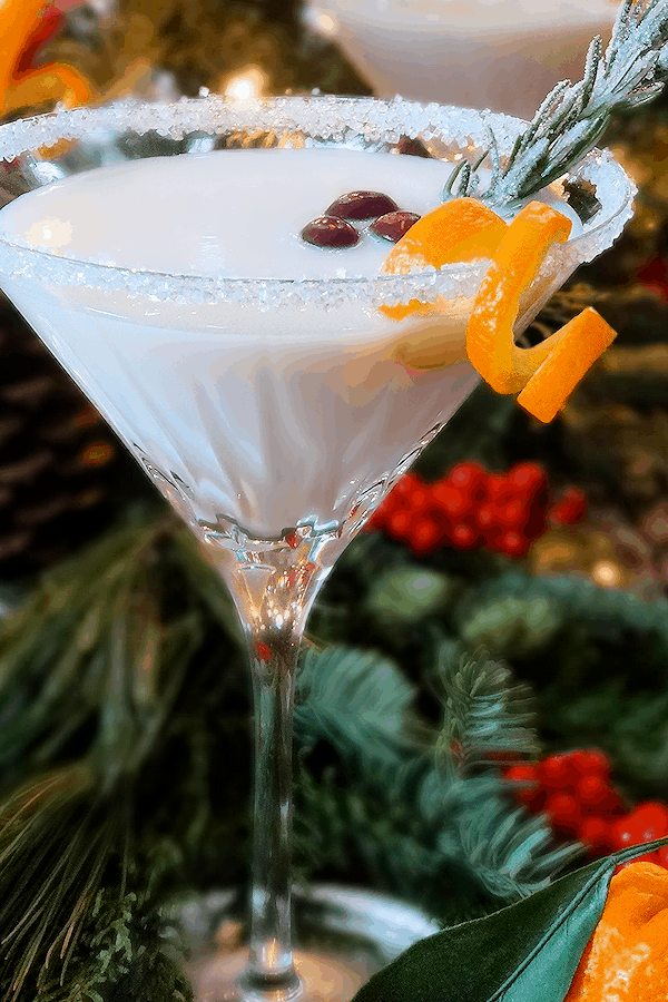 Sleigh ride white christmas cocktail