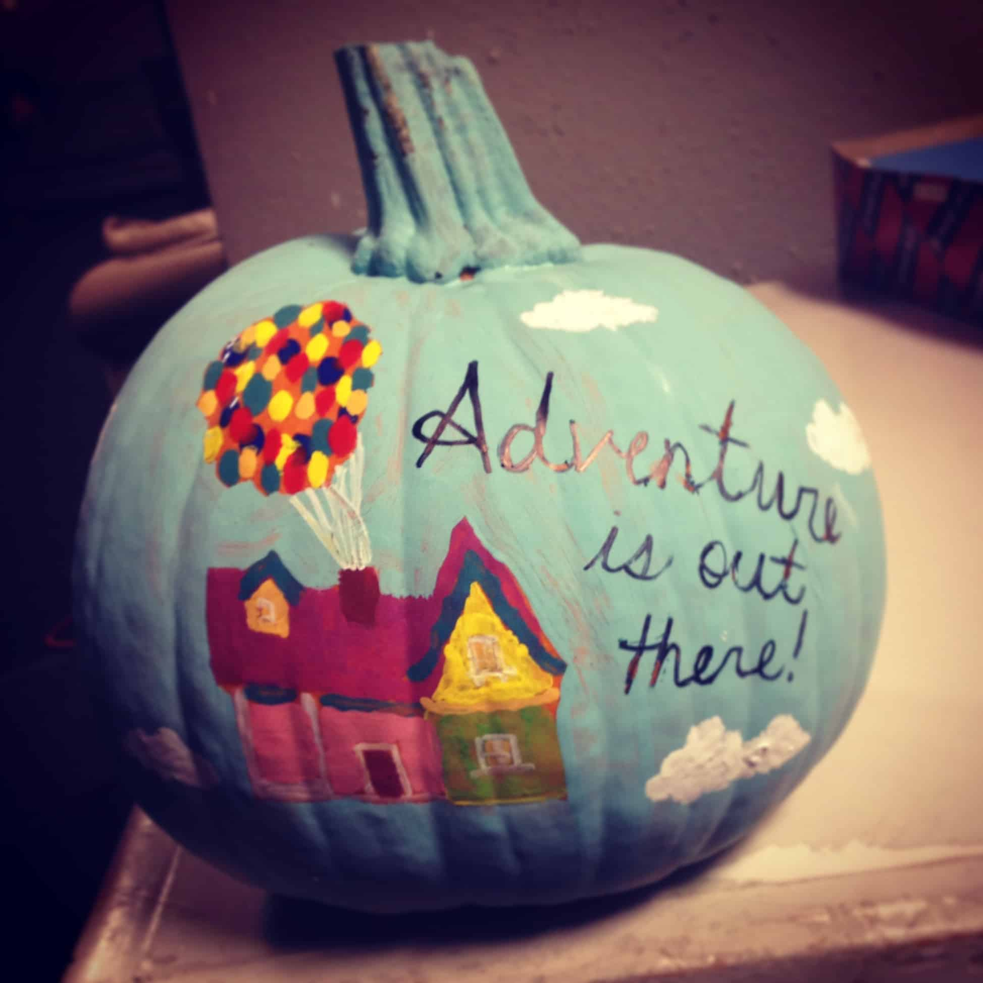 Up! themed pumpkin