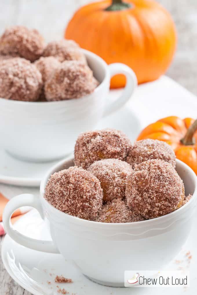 Baked donut holes