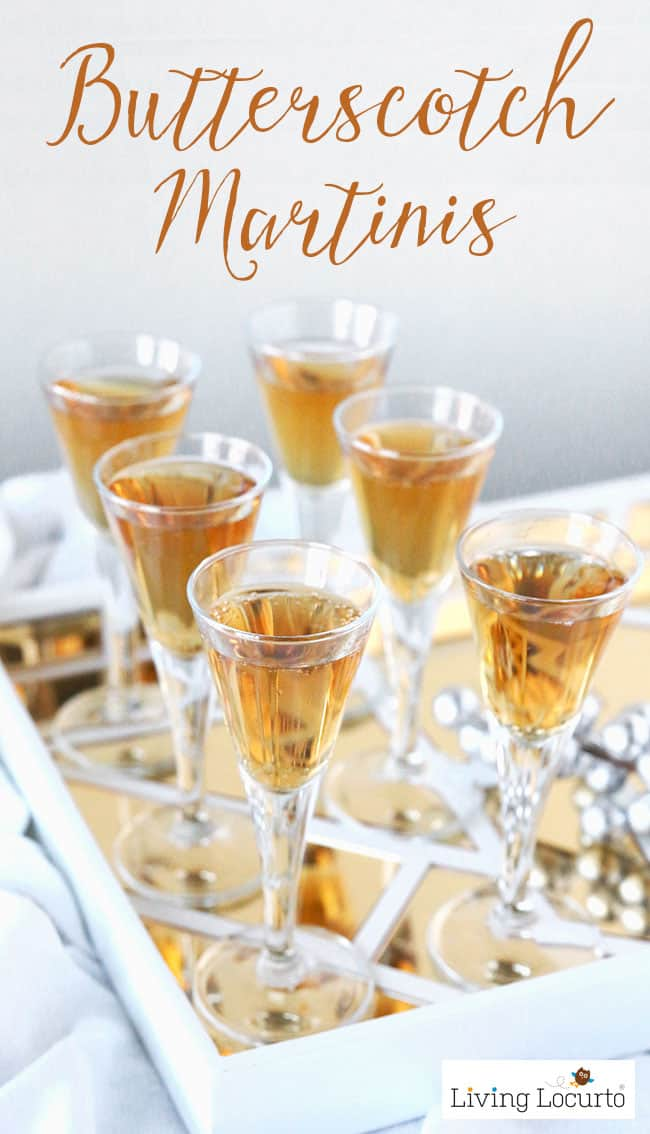 Butterscotch martini cocktail recipe