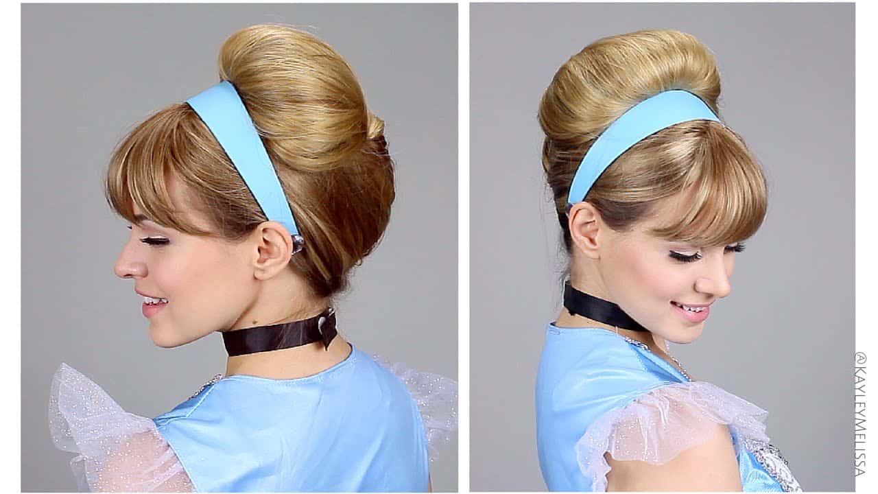Diy cinderella hair tutorial