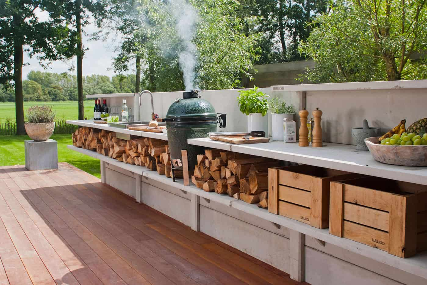 15 outdoor kitchen designs that you can help diy diy modular outdoor kitchen solutioingenieria Gallery