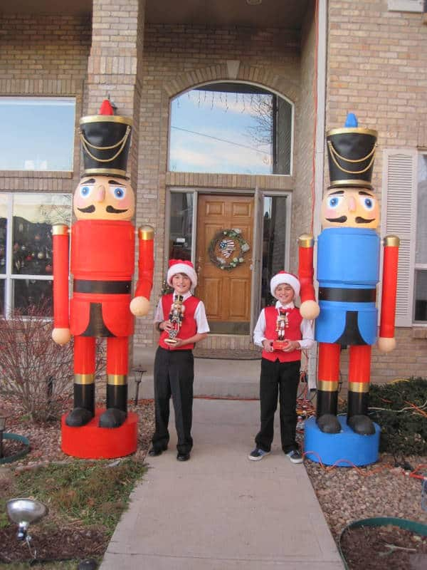 Diy nine foot nutcrackers